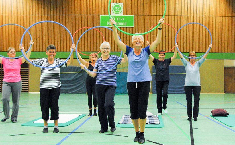 Damengymnastik mit Susanne oder Anja