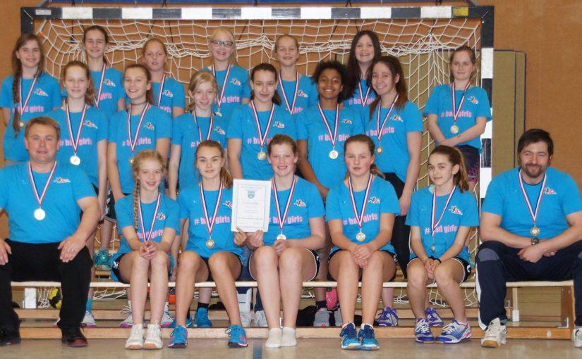 Handball – weibliche Jugend D ist Kreismeister